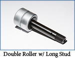 Double Roll long stud